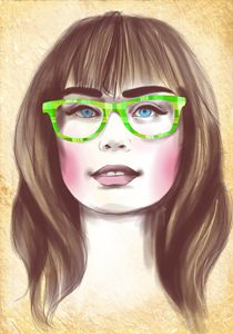 Hipster portrait no.2