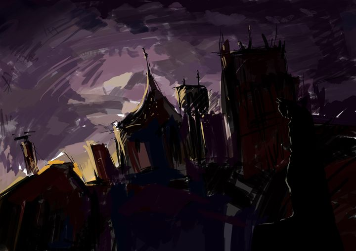 Gotham at dawn - Midday Gallery