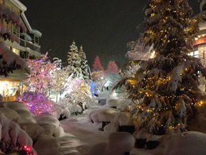 Whistler Village at Christmas