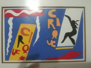The Circus plate 2 by Matisse 1947pr