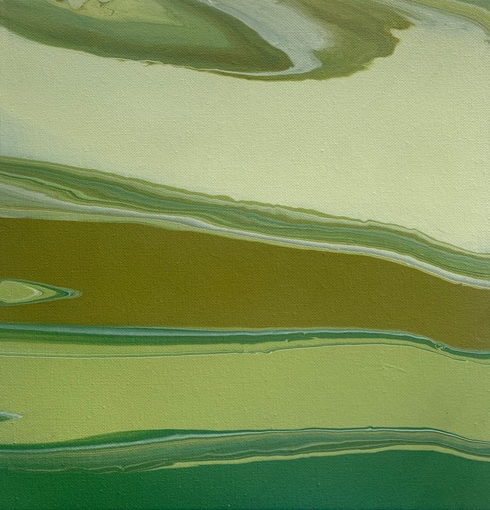 The Emerald River - The Distracted Abstractist