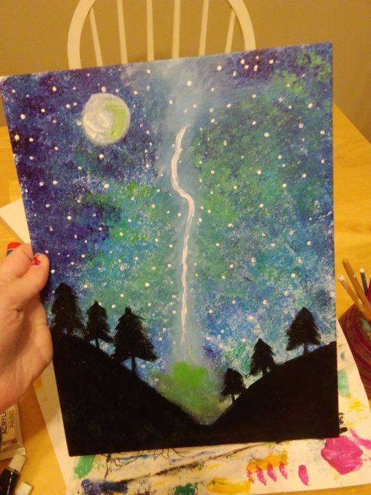 Forest - Paintings