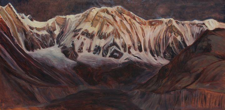 Ode to Annapurna - Before sunrise - Anders Dunker