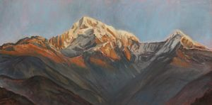 Ode to Annapurna - Morning peaks