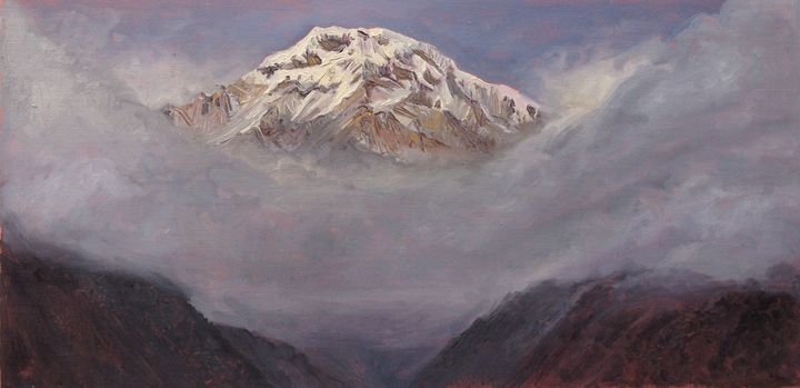 Ode to Annapurna - south peak - Anders Dunker