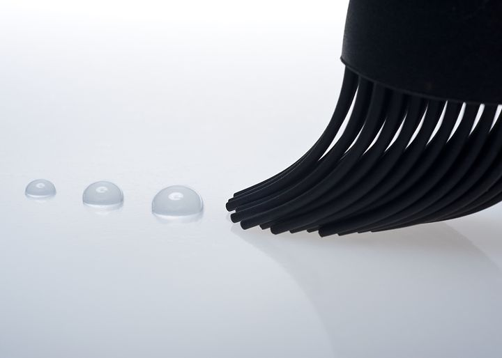 drops and brush - Marco Moroni Photography