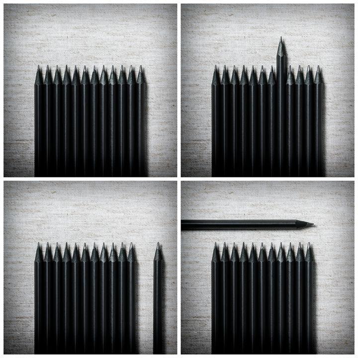 Pencils Composition - Marco Moroni Photography