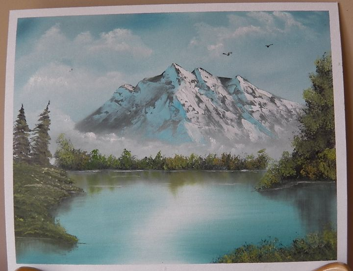 Mountain Reflections - The Norfolk Artist