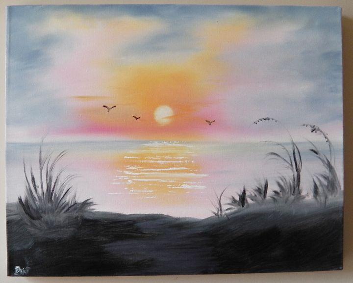 Tropical Beach - The Norfolk Artist