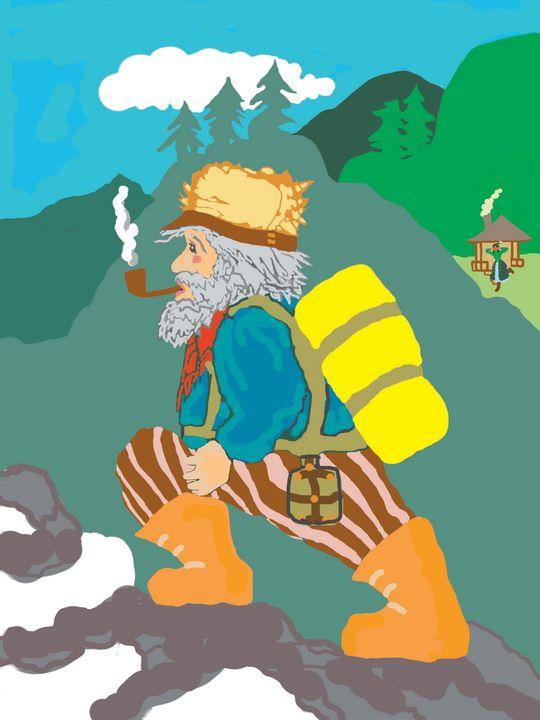 Mountain Man - CYDART CREATIONS