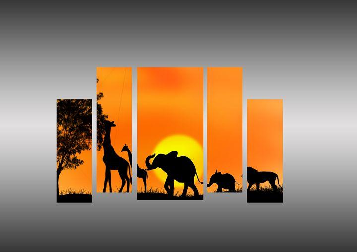 African art - Nana Kobina Etwire (N.K.E)