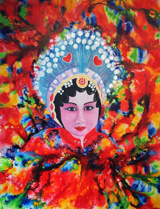 Festival Time - Artist Leanne Davy