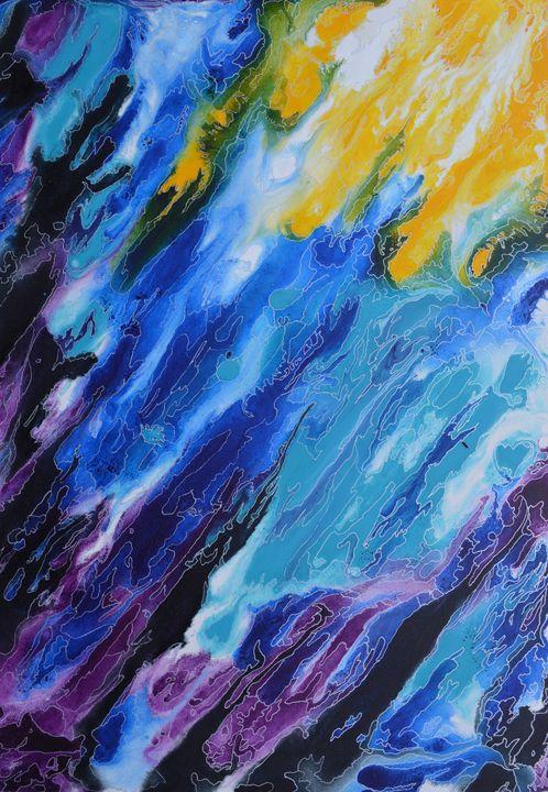 Shoreline - Artist Leanne Davy