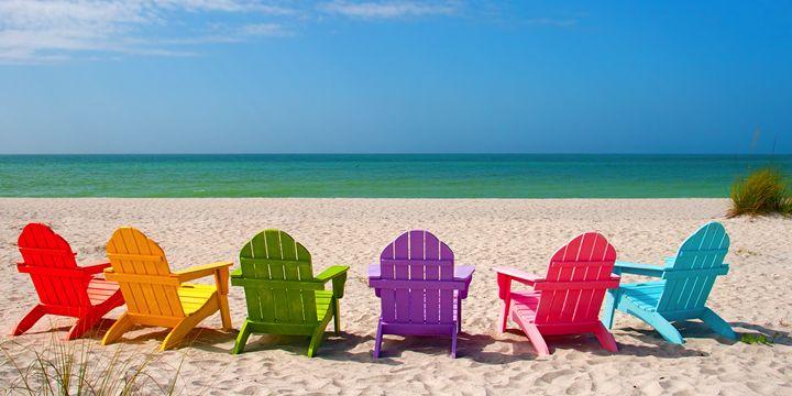 Adirondack Beach Chairs - Elite Image Photography