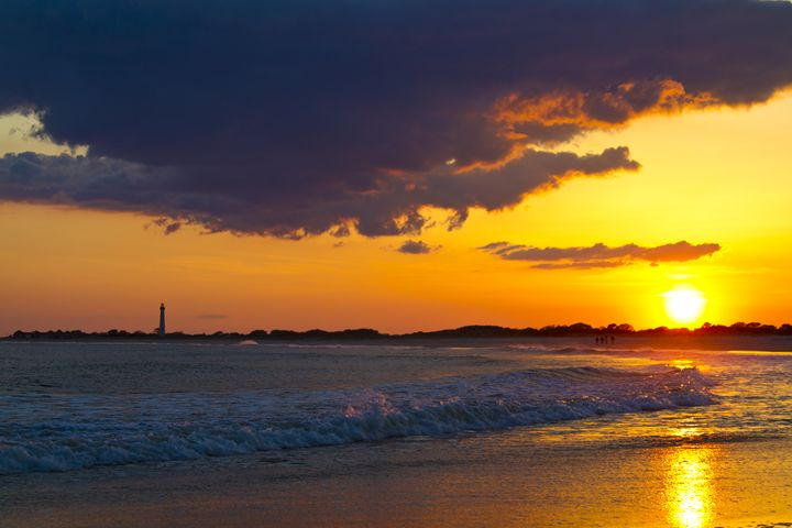 Sunset over the Cape May New Jersey - Elite Image Photography