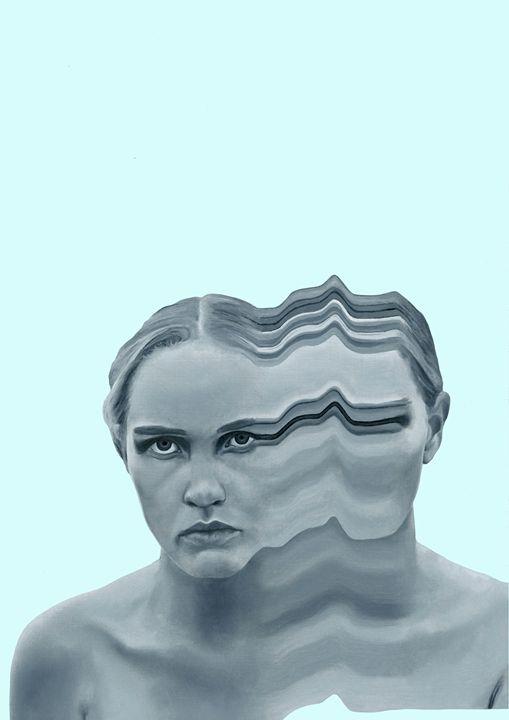 Losing One's Sanity - Patient Three - Joshua Davison Creations