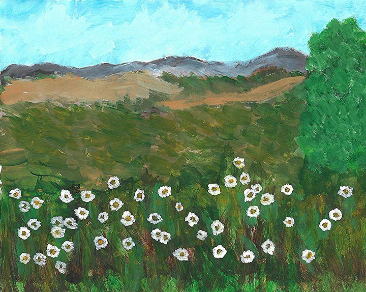 Flowers in the Field - Jessica Ann