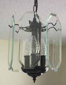 """Carousel"" Mini-chandelier"