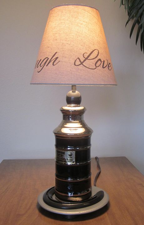 """Lucky Jim"" Table lamp - New Life Style Creations"