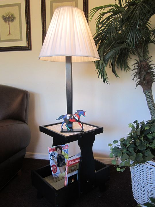 """""""Miami Art Deco"""" Side Table - New Life Style Creations"""