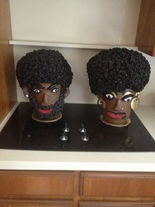 """Mr. & Mrs. Afro"" #201"