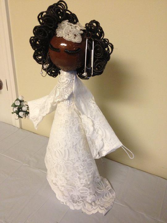 """Beautiful  Bride"" #808 - Maude Folks"