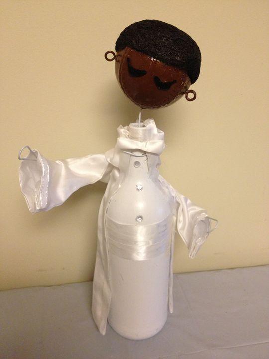 """ African-American Groom"" #807 - Maude Folks"