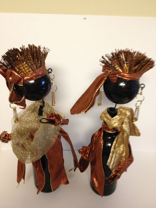 """""""African Twins"""" #704 - Maude Folks"""