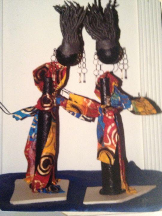 """Jammin Jamaicans Twins"" #601 - Maude Folks"