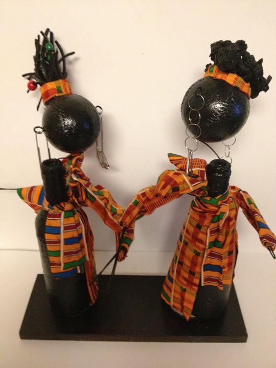 """Colorful Sisters"" #503 - Maude Folks"