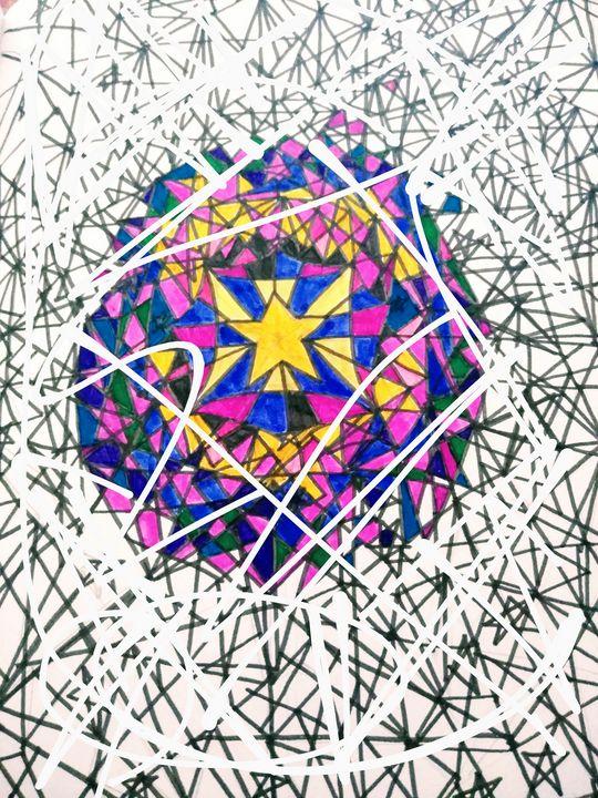 Star of lines - Renee Marie D