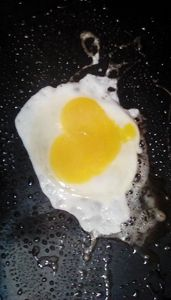 Egg over heart - Renee Marie D