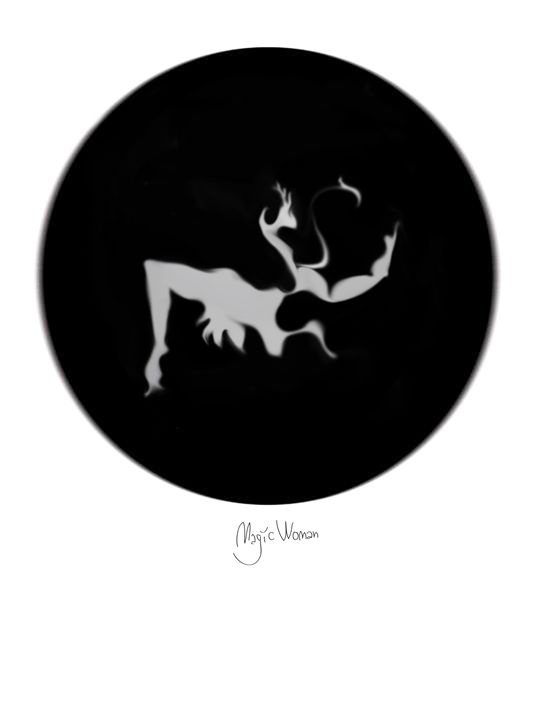 Magic Woman - Magic of circles