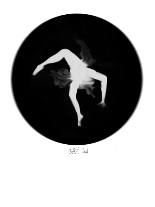 Ballet Girl III - Magic of circles