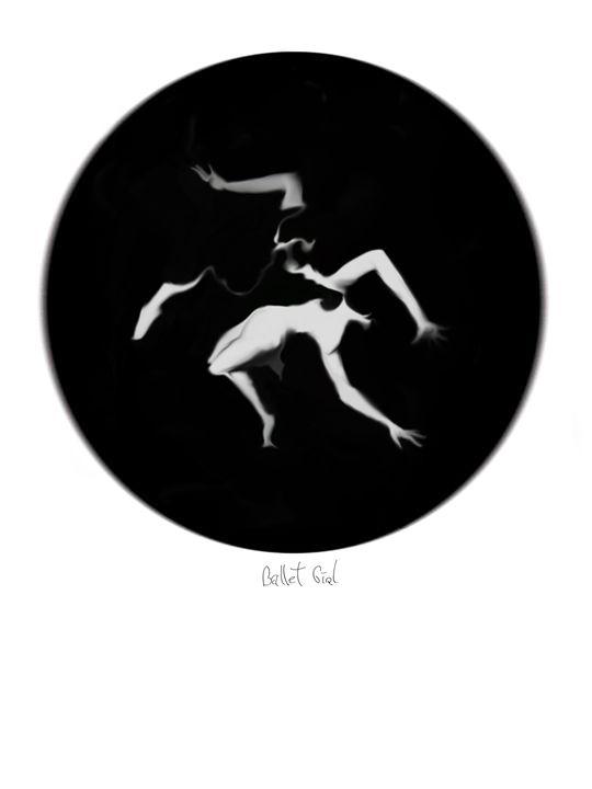 Ballet Girl - Magic of circles