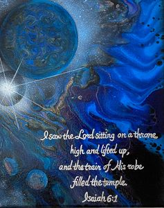High and Lifted Up - Kathleen Latham