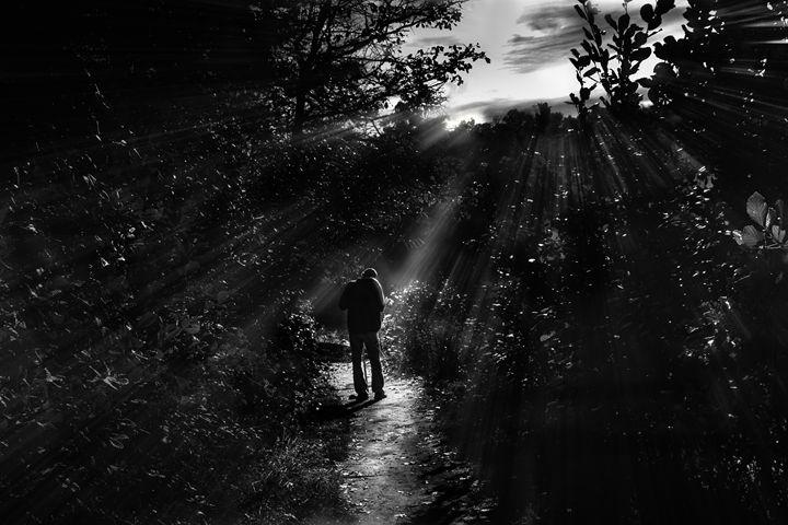 Hiker - LilaUrdaPhotography
