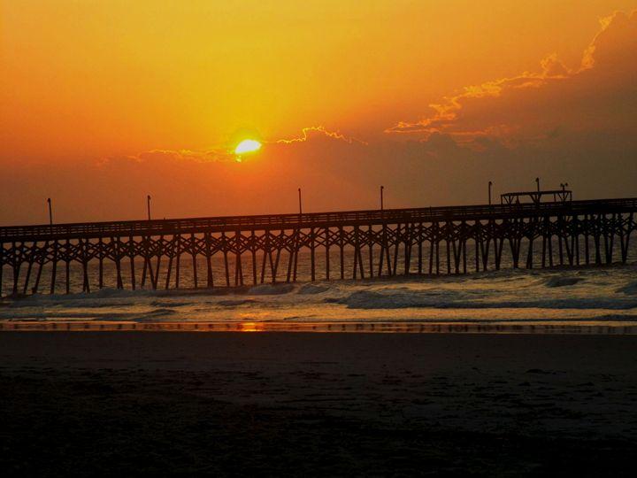 Sunrise at the Beach - LilaUrdaPhotography