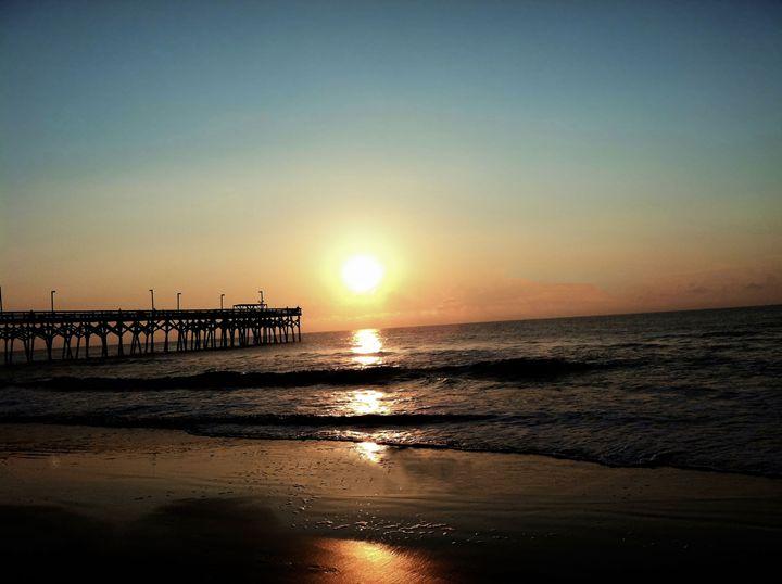 Surfside Beach Sunrise - LGUPhotography