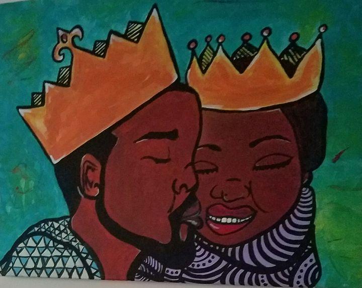 King & queen - NATASHA WRIGHT