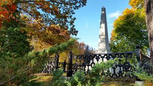 Autumn Obelisk