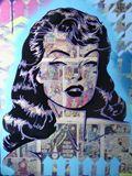 24 x 30 mixed media canvas