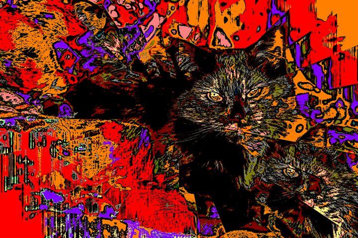 Psychedlic Kami - Paizley's Digital Art
