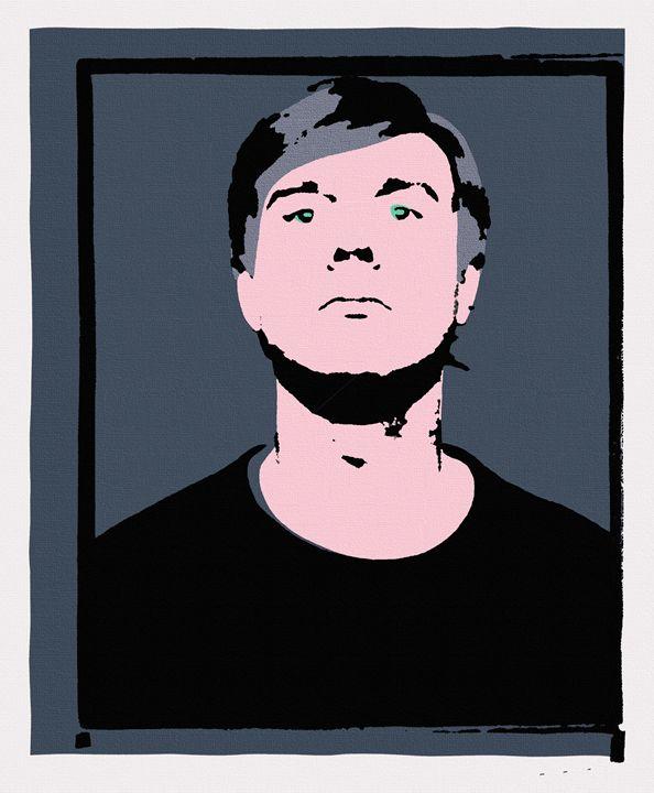 Andy Warhol Self-Portrait 1964 Grey - Peter Potamus Gallery