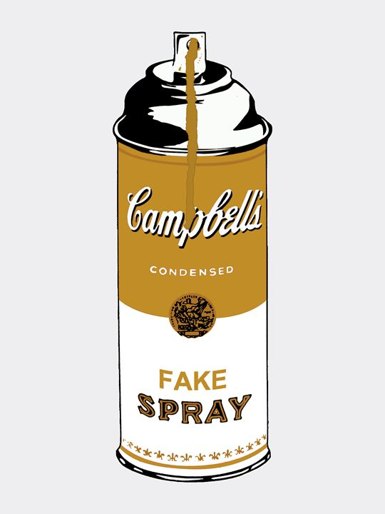 Campbell's Fake Spray Can Gold - Peter Potamus Gallery