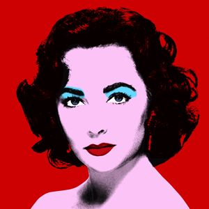 Red Liz - Warhol Inspired