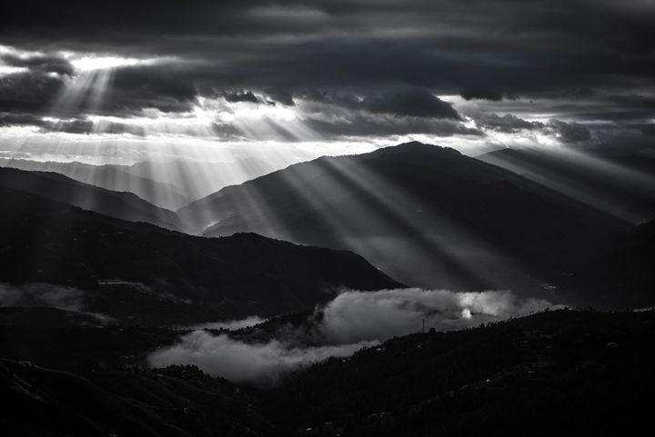 Black and Lights - AJ Photography