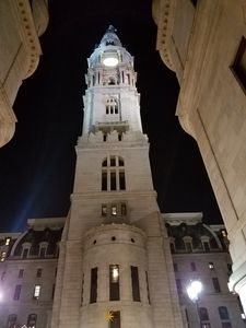 Philly Downtown at Night