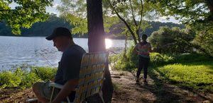 Fishin' with PaPa