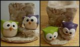 AROMA LAMP, OWLS